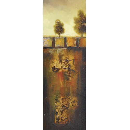 Yosemite Home Decor Revealed Art Golden Oak I Original Painting on Canvas