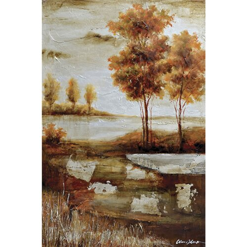 Yosemite Home Decor Revealed Art Countryside I Original Painting on Canvas