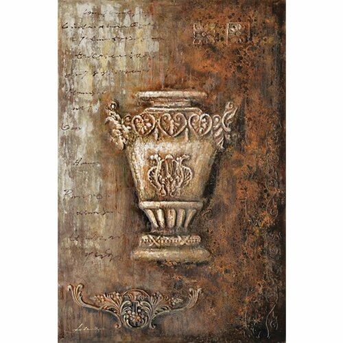 Revealed Art Samovar II Original Painting on Canvas