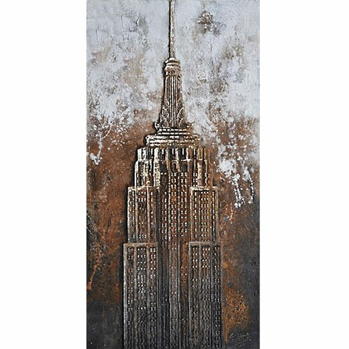 Revealed Art The Empire Original Painting on Canvas