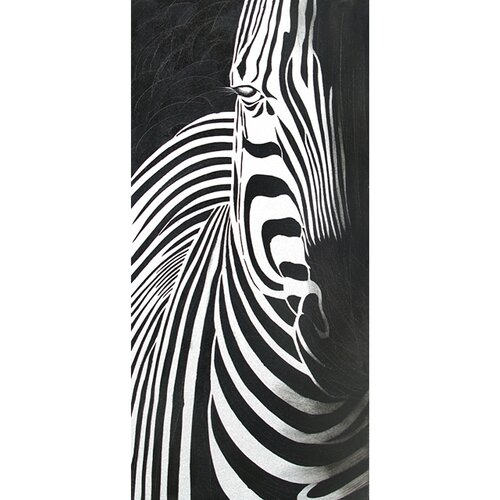 Contemporary & Abstract Art Wild Life I Original Painting on Canvas