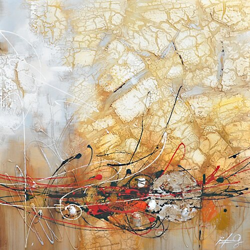 Yosemite Home Decor Contemporary & Abstract Art Outburst II Original Painting on Canvas