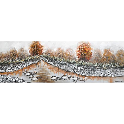 Contemporary & Abstract Art Mystic Autumn I Original Painting on Canvas