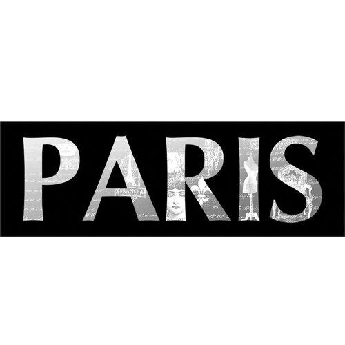 New Revealed Art J'Adore Paris Textual Art on Canvas