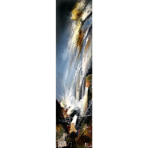Yosemite Home Decor Contemporary & Abstract Art Water Fall Original Painting on Canvas