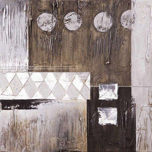 Yosemite Home Decor New Artwork Geometric Elegance Original Painting on Canvas