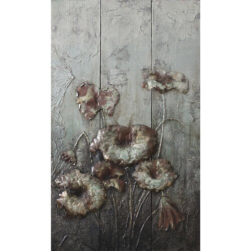Drooping Flowers Original Painting