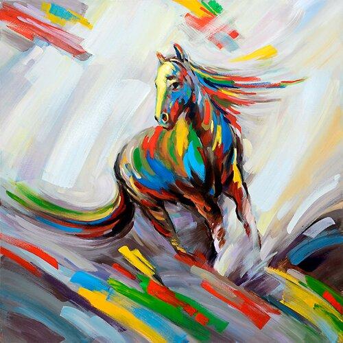 Revealed Art Spirited Original Painting on Canvas