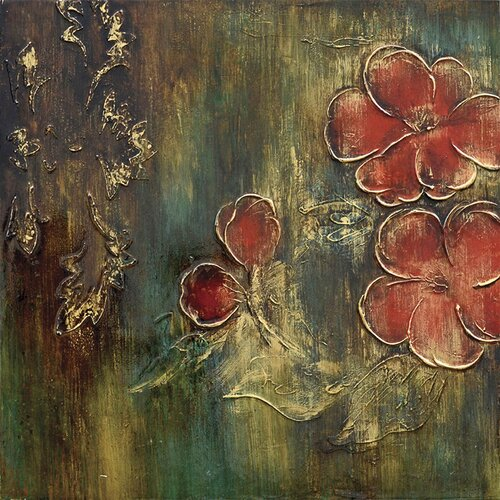 Revealed Art Dogwood Daze I Original Painting on Canvas