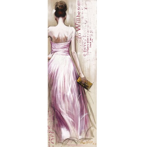 Revealed Artwork Fashionista II Graphic Art on Canvas