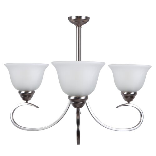 Yosemite Home Decor Aulin 3 Light Chandelier