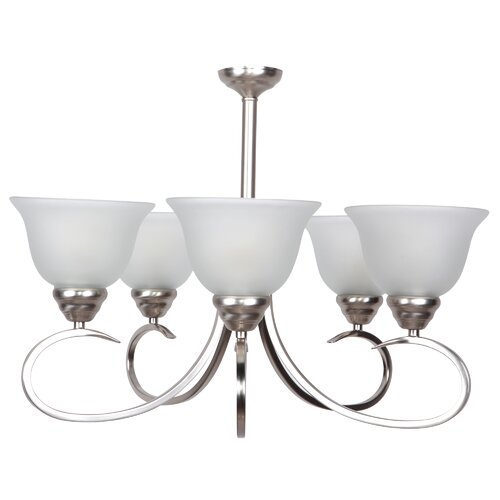 Yosemite Home Decor Aulin 5 Light Chandelier