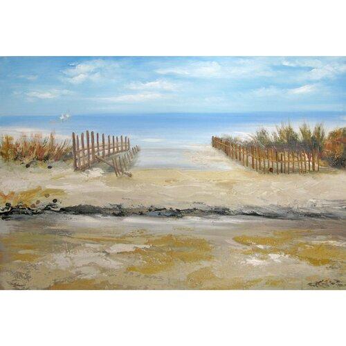 Artwork Santa Cruz VI Original Painting on Canvas
