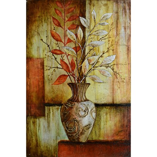 Yosemite Home Decor Revealed Art Abstract Arrangements I Original Painting on Canvas