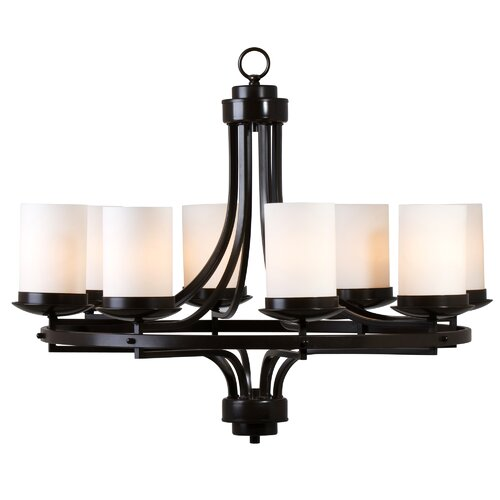 Yosemite Home Decor Columbia Rock 8 Light Chandelier