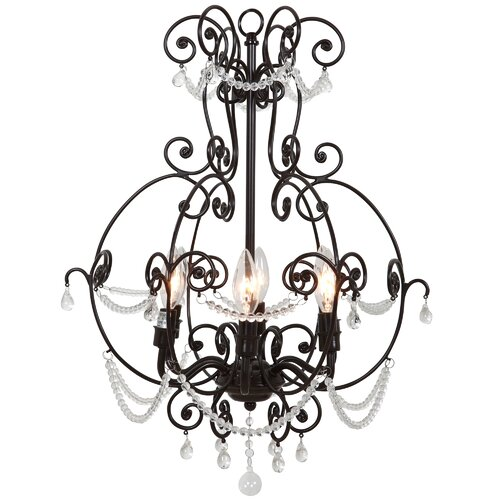Brianne 6 Light Mini Chandelier