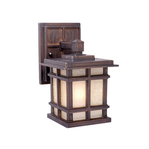 Vaxcel Manor House 3 Light Outdoor Wall Lantern