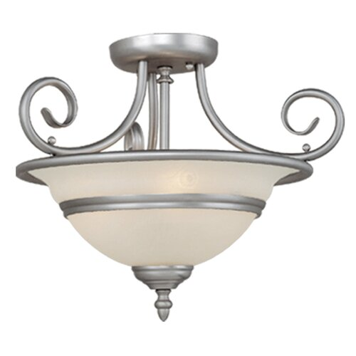 "Vaxcel Da Vinci 16"" Semi Flush Mount"