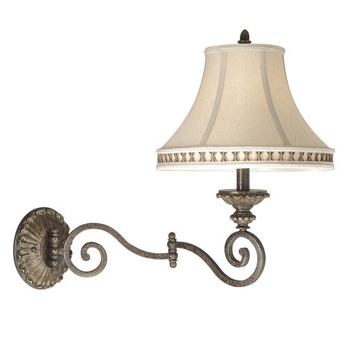 Vaxcel Dynasty Swing Arm Wall Lamp