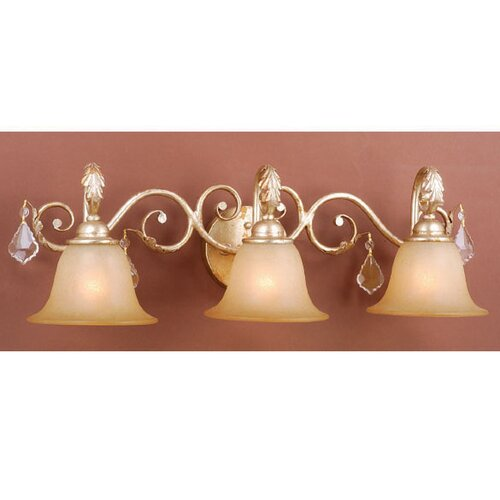 Vaxcel Newcastle 3 Light Vanity Light