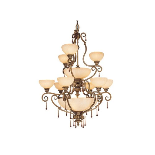Vaxcel Versailles 17 Light Chandelier