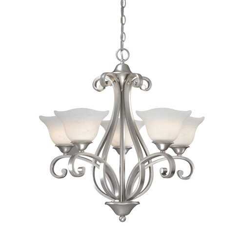 Caspian 5 Light Chandelier