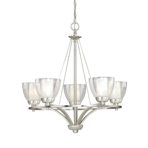 Vaxcel Asti 5 Light Chandelier
