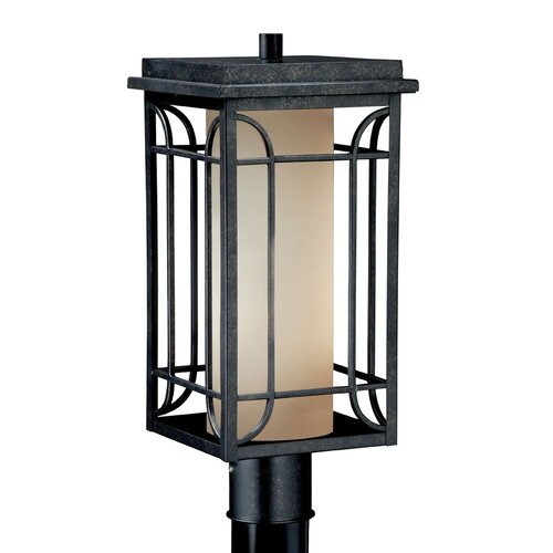 "Vaxcel Newport 1 Light 8"" Outdoor Post Lantern"