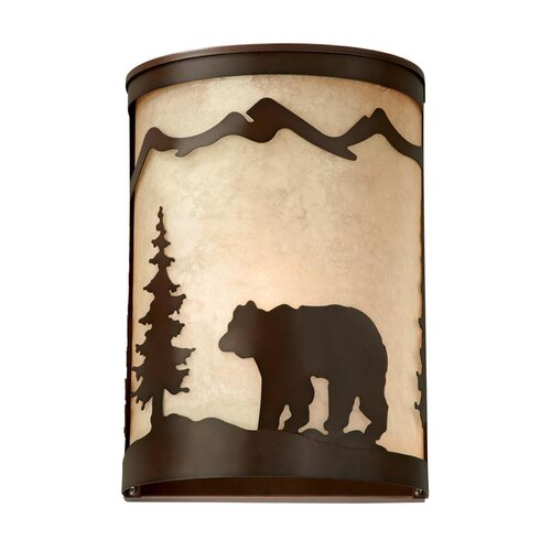 Vaxcel Bozeman 1 Light Wall Sconce