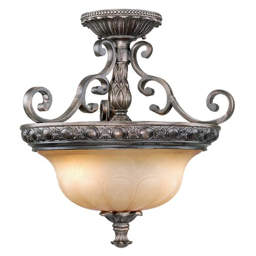 Vaxcel Bellagio Semi Flush Mount