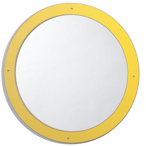 "Whitney Brothers 24"" H x 24"" W Circle Mirror"