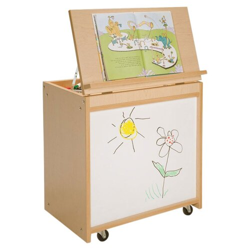 "Whitney Brothers 26"" Big Book Storage with Marker-Board Back"