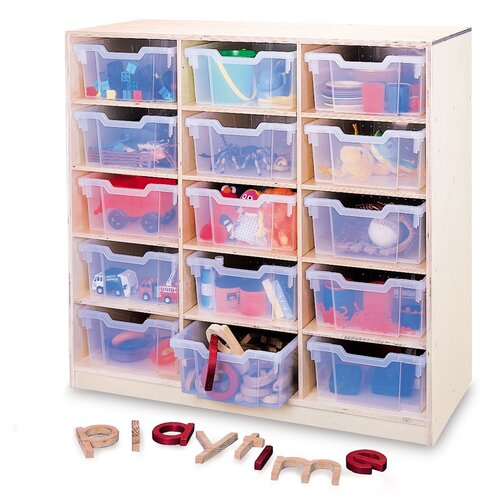Whitney Brothers Gratnell 15 Compartment Cubby
