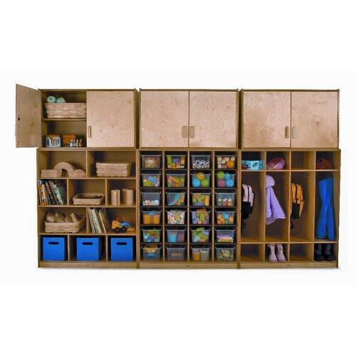 Whitney Brothers Wall Storage Coat Locker