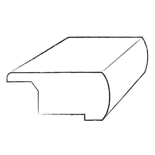 Teragren Portfolio  Prefinished Overlap Stair Nosing in New Country