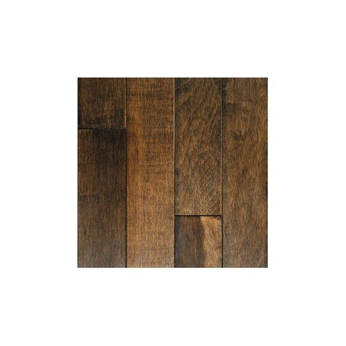 "Mullican Flooring Muirfield 3"" Solid Maple Flooring in Cappuccino"