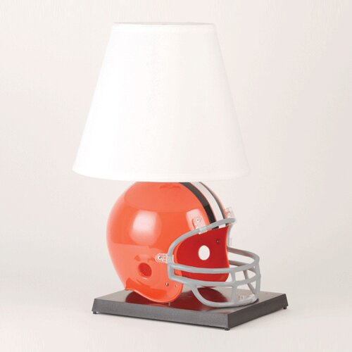 "Wincraft, Inc. NFL Deluxe Helmet  24"" H Table Lamp with Empire Shade"