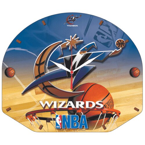 NBA High Def Plaque Wall Clock