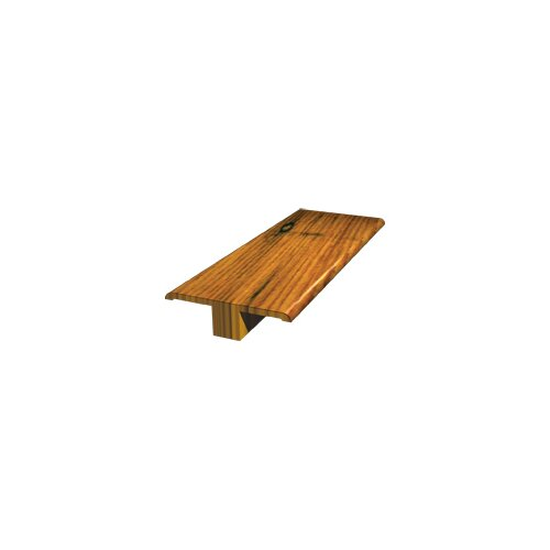 LM Flooring Reclaimed Pine T-Molding in Nutmeg Hand Scraped