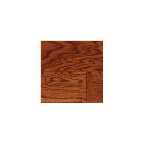 "LM Flooring Cottage Plank 5"" Engineered Oak Flooring in Walnut"