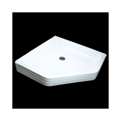 Jacuzzi® Tru-Level Neo Corner Shower Base