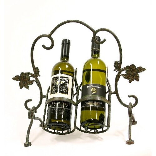 Xiafeng 2 Bottle Tabletop Wine Rack
