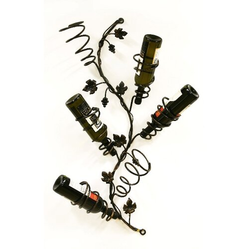 Creative Creations Xiafeng 6 Bottle Wall Mounted Wine Rack