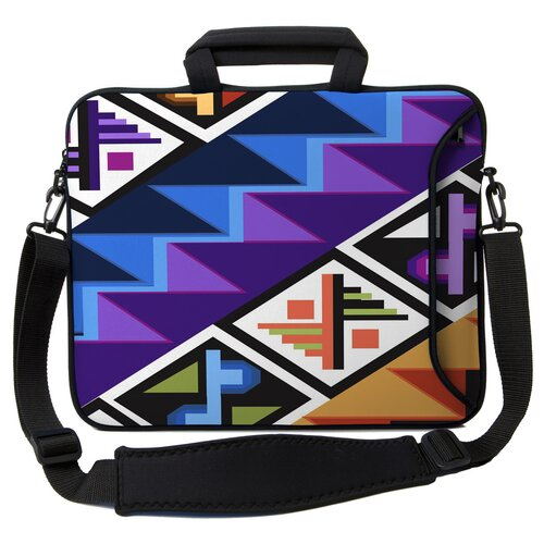 Executive Sleeves Tropical Textile PC Laptop Bag