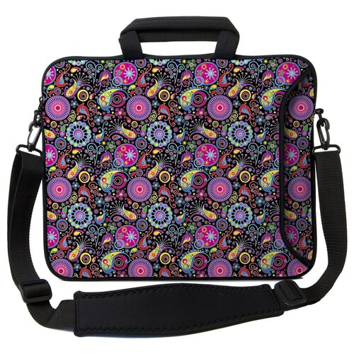 Designer Sleeves Executive Sleeves Paisley PC Laptop Bag