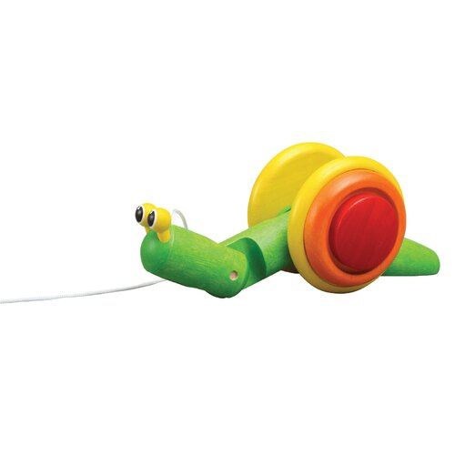 Plan Toys Preschool Pull Along Snail