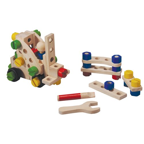 Plan Toys Preschool 60 Construction Set