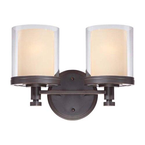 Nuvo Lighting Decker 2 Light Bath Vanity Light