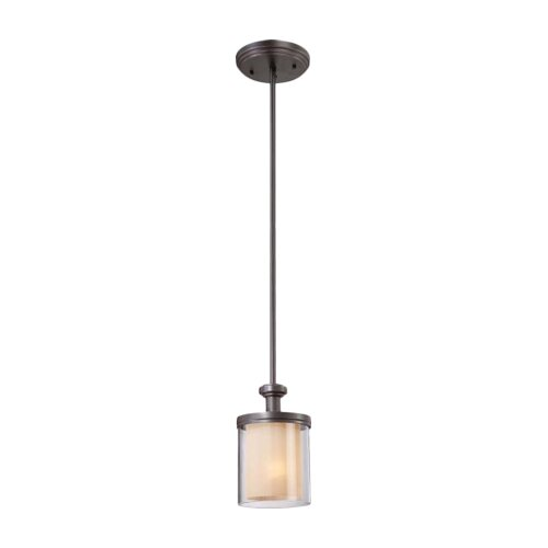 Nuvo Lighting Decker 1 Light Mini Pendant