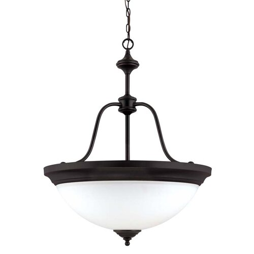 Nuvo Lighting Glenwood 4 Light Large Inverted Pendant